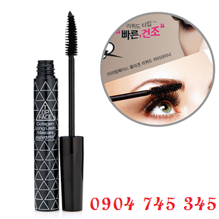 Mascara Dày Dài Mi Collagen TOP FACE