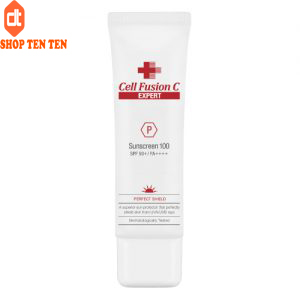 Kem Chống Nắng Cell Fusion C Perfect Shield Sunscreen 100 SPF 50+, PA++++