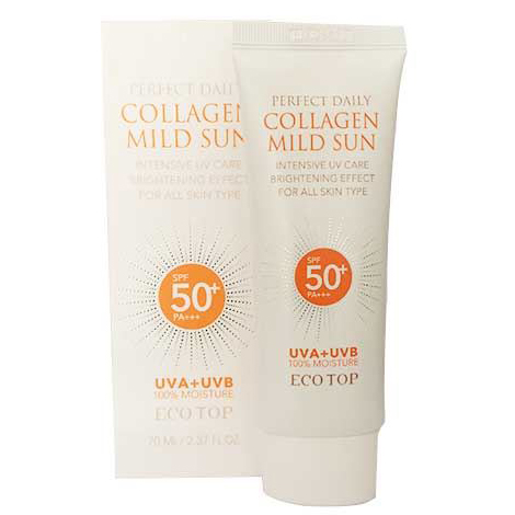 Kem Chống Nắng Perfect Daily Collagen Mild Sun ECOTOP SPF50+