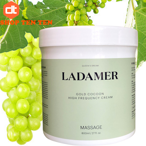 Kem massage Ladamer Gold Cocoon High Frequency Cream 800g