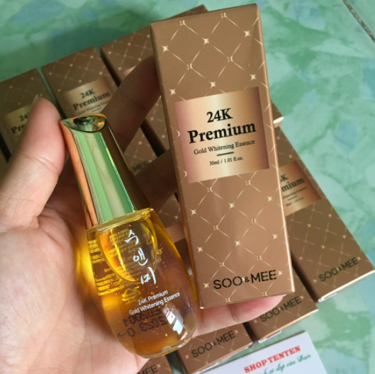 Serum Soo Mee 24K Premium Gold Whitening Essence