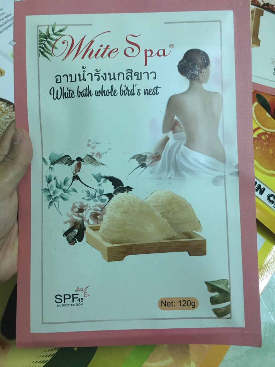 Tắm Trắng Tổ Yến White Bath Whole Bird's Nest White Spa